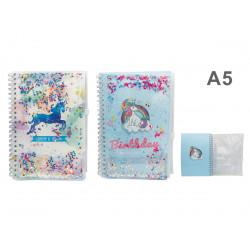 Cuaderno de unicornio