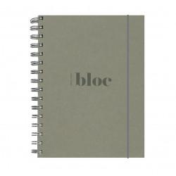 """Libreta """"Bloc"""" A5 Gris"""