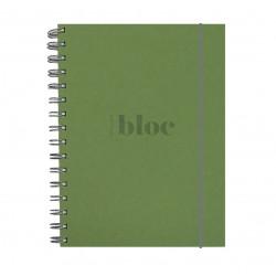 """Libreta """"Bloc"""" A5 Verde Lima"""